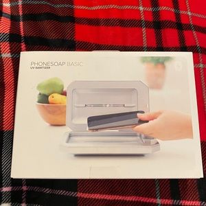 PhoneSoap Basic UV Sanitizer - White NEW